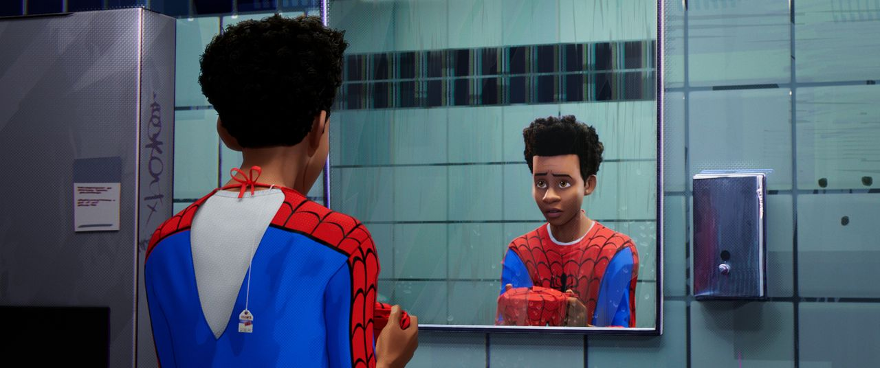 Spider-Man / Miles Morales - Bildquelle: 2018 Sony Pictures Animation Inc. All Rights Reserved. | MARVEL and all related character names: © & TM 2021 MARVEL.