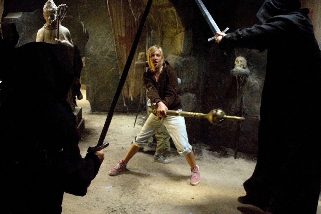Klein, aber oho: Katrine (Julie Grundtvig Wester) ... - Bildquelle: Nordisk Film Biografdistribution