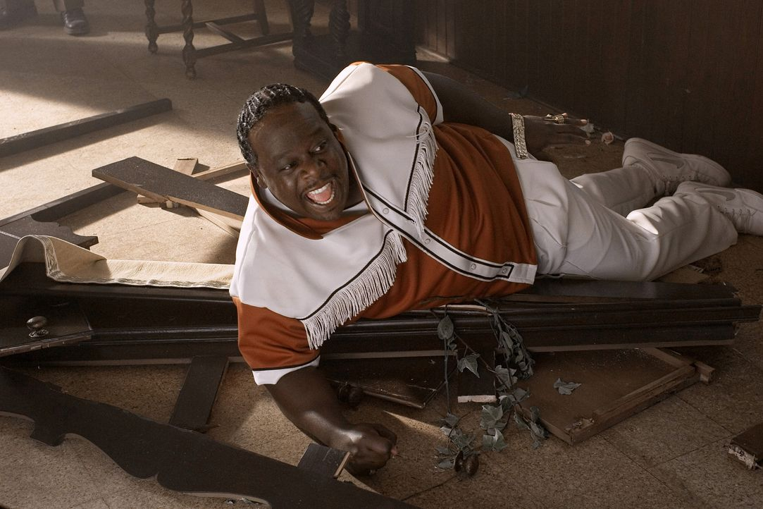 "Kann sich durchaus wehren: Percy Stevens (Cedric ""The Entertainer"") ... - Bildquelle: Sony Pictures Entertainment"