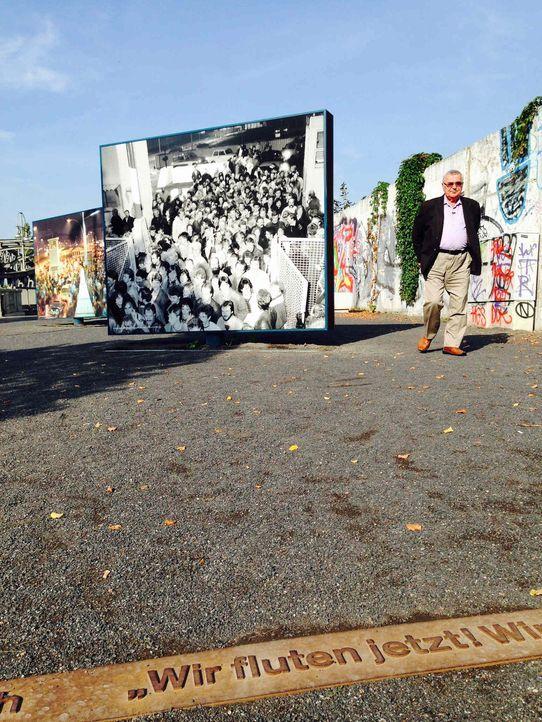 """Anlässlich des 25. Jubiläums des Falls der Berliner Mauer erzählt """"Galileo Spezial"""" die faszinierende Geschichte dieses historischen Ereignisses. Im... - Bildquelle: ProSieben"""