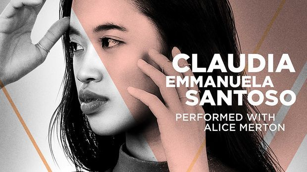 Claudia Santoso auf ihrem Cover, der Single mit Alice Merton