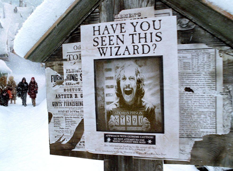 Der gefährliche Sirius Black ist aus Askaban entkommen und ist nun angeblich hinter Harry Potter her. Wer kann ihn stoppen? - Bildquelle: Warner Television