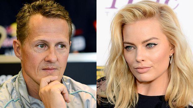 Michael-Schumacher-120830-AFP-Margot-Robbie-140116-getty-AFP - Bildquelle: AFP / getty-AFP