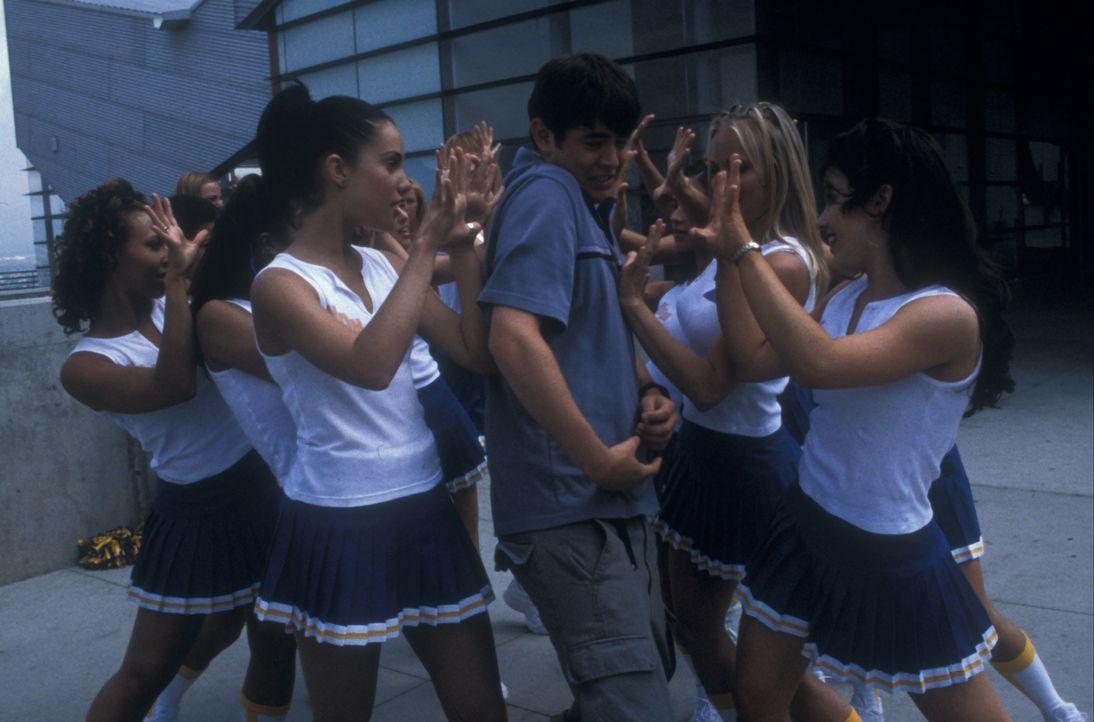 Fun ist bei Orange Countys Jugend angesagt. Doch eines Tages erkennt der oberflächliche Shaun Brumder (Colin Hanks, M.), dass seine Zukunft außerhal... - Bildquelle: Gemma Lamana TM & Copyright   2001 by Paramount Pictures. All rights reserved.