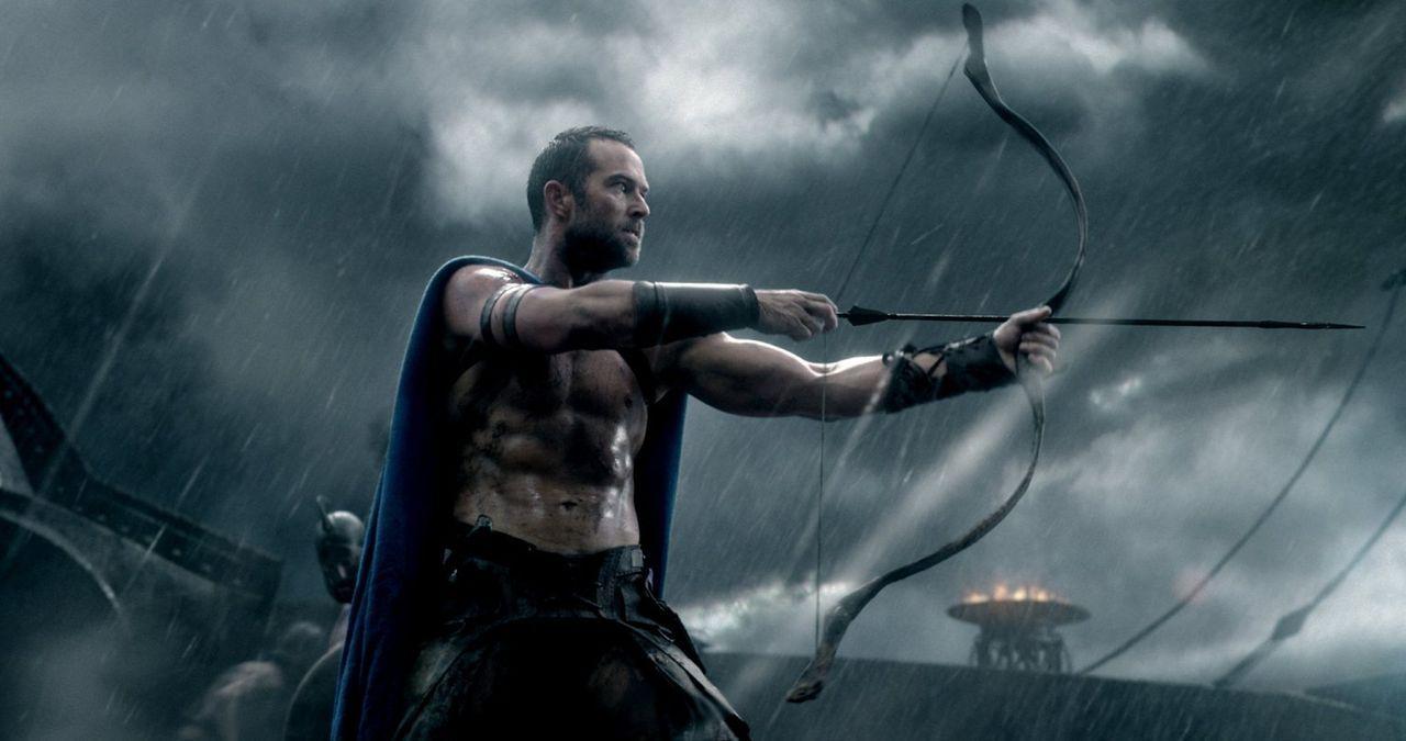 Als der persische Großkönig Xerxes versucht, Griechenland einzunehmen, schickt er eine Übermacht an Schiffen nach Athen. Dort muss der athenische Ge... - Bildquelle: 2014 Warner Bros. Entertainment, Inc.