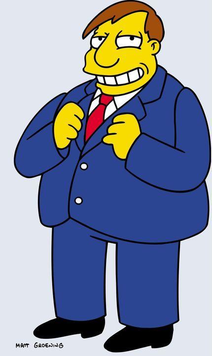 (17. Staffel) - Bürgermeister Joe Quimby - Bildquelle: und TM Twentieth Century Fox Film Corporation - Alle Rechte vorbehalten