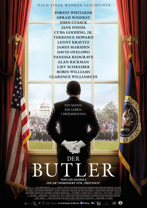Der Butler - Plakatmotiv - Bildquelle: Prokino Filmverleih GmbH