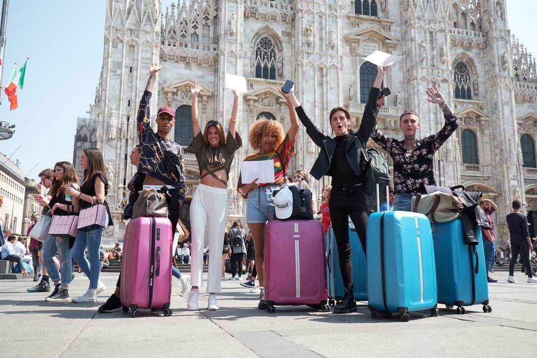 SNTM_S5_Milano-Arriving_0178 - Bildquelle: ProSieben Schweiz