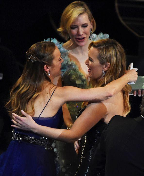 oscars-2016-Brie-Larson-Cate-Blanchett-Kate-Winslet-AFP - Bildquelle: AFP