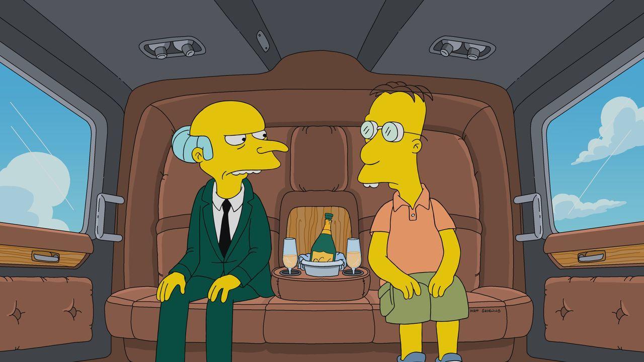 Mr. Burns (l.); Professor Frink (r.) - Bildquelle: 2019-2020 Twentieth Century Fox Film Corporation.  All rights reserved.
