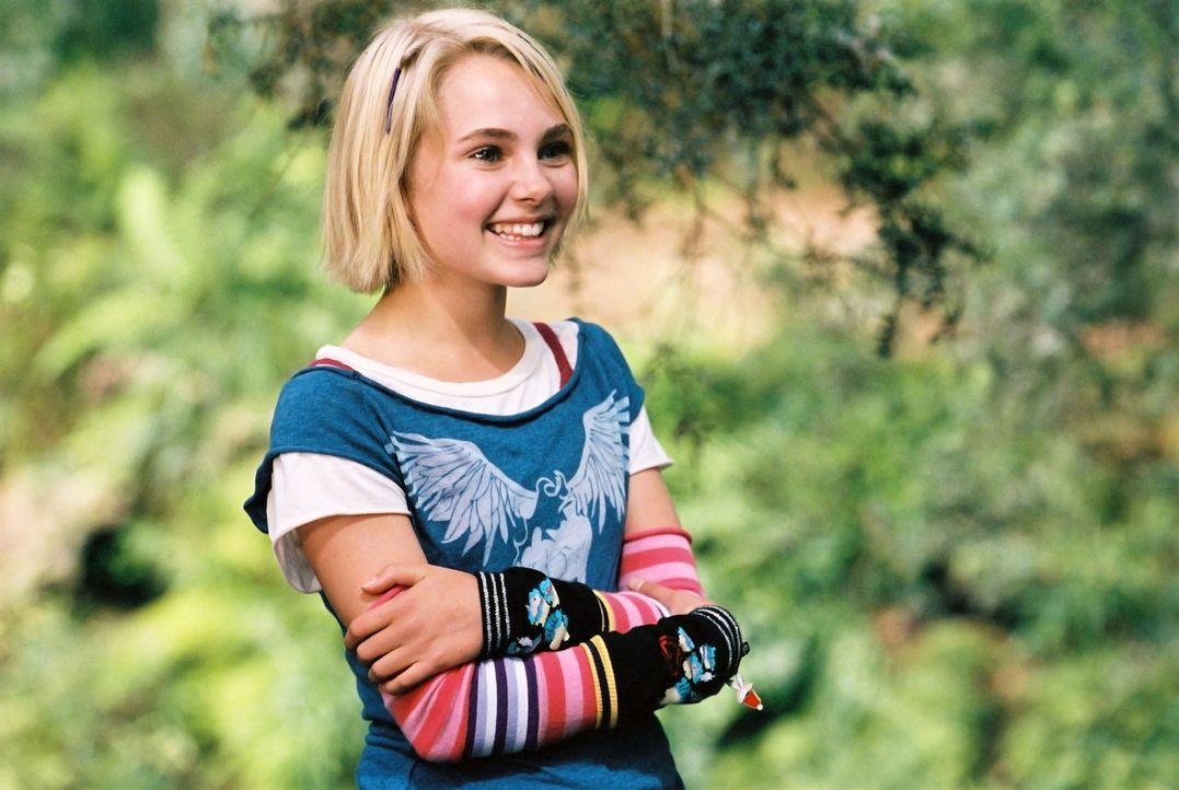 Jess hat den Ruf, der schnellste Läufer seiner Schule zu sein. Bis er auf Leslie (Anna Sophia Robb) trifft, die mit ihren Eltern neu in den Ort gez... - Bildquelle: 2006 Constantin Film, München