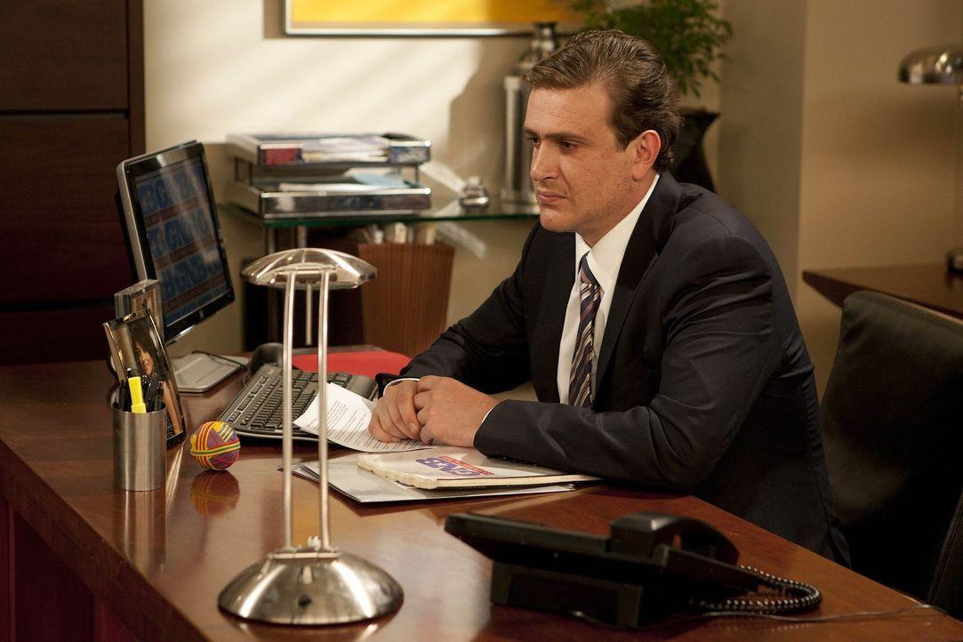 Nachdem er Randy gefeuert hat, plagt Marshall (Jason Segel) das schlechte Gewissen ... - Bildquelle: 20th Century Fox International Television