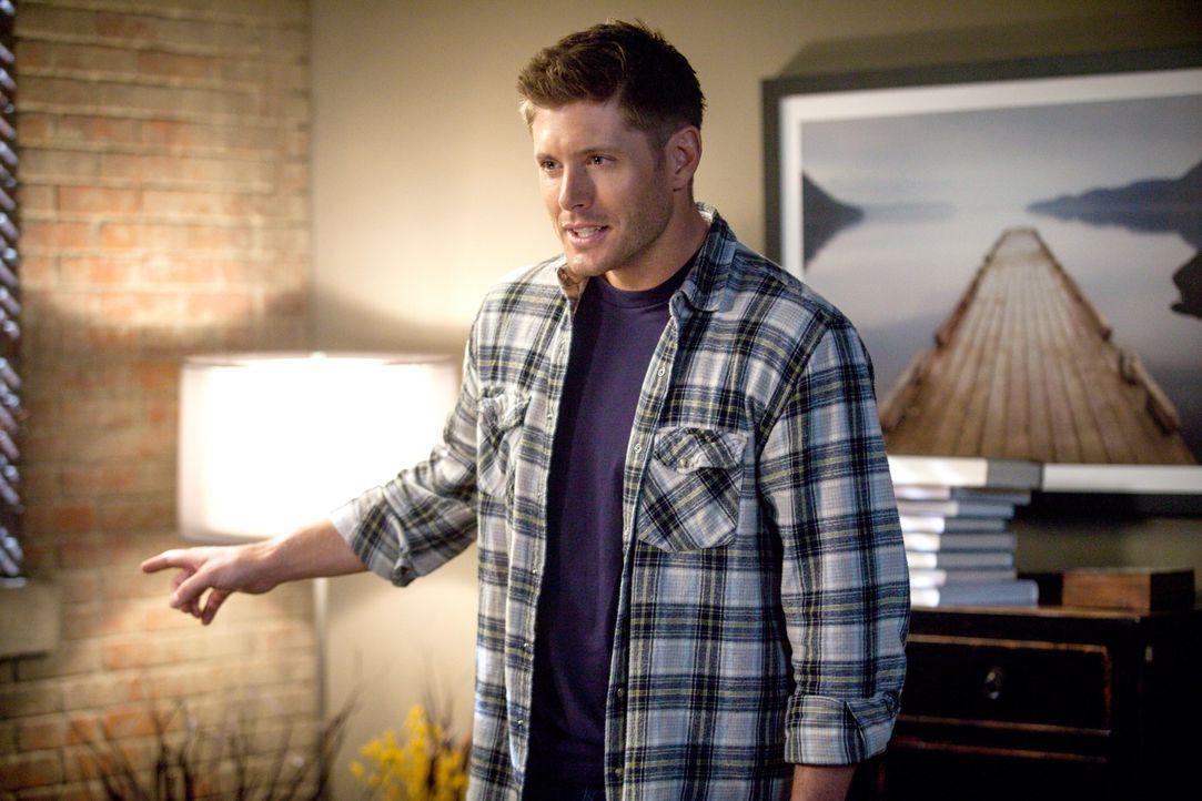 Ist es bereits zu spät, als Sam und Sheriff Mills bewusst wird, in welcher Gefahr Dean (Jensen Ackles) schwebt? - Bildquelle: 2013 Warner Brothers