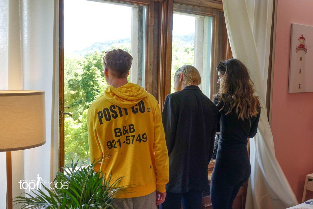 SNTM2019_Modelvilla (6) - Bildquelle: proSieben Schweiz/ Siegfried Boyé