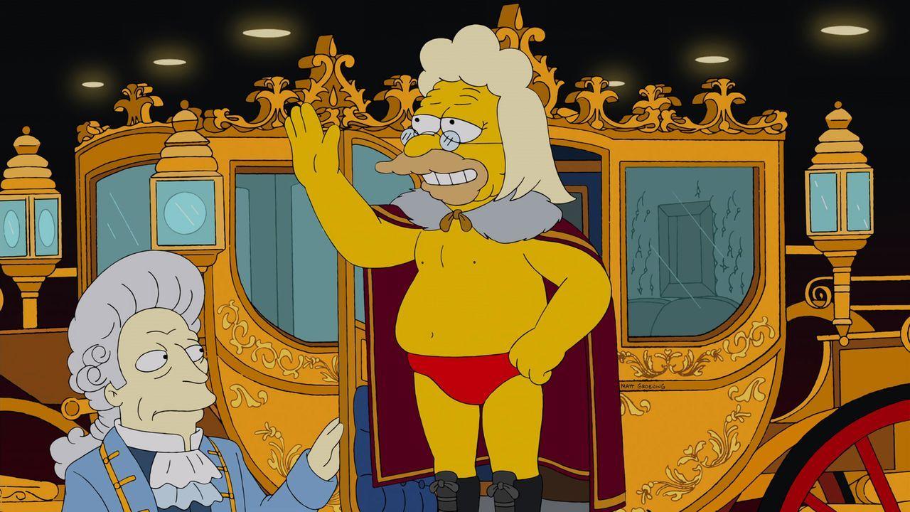 Gorgeous Grampa (r.) steigt erneut in den Ring ... - Bildquelle: und TM Twentieth Century Fox Film Corporation - Alle Rechte vorbehalten