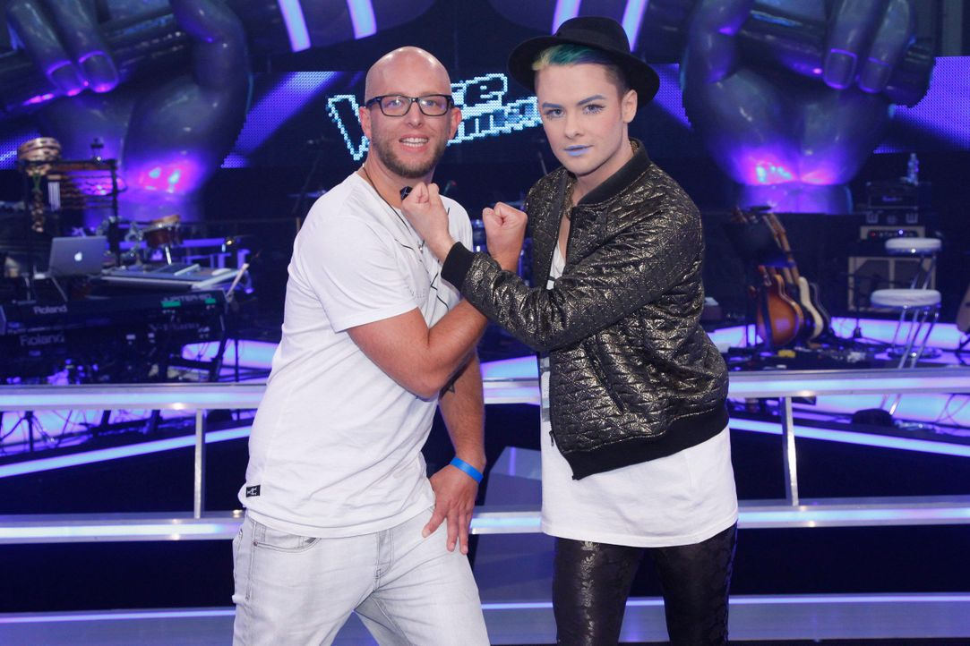 battle-keye-vs-sascha-w-08-the-voice-of-germany-huebnerjpg 2448 x 1632 - Bildquelle: SAT.1/ProSieben/Richard Hübner