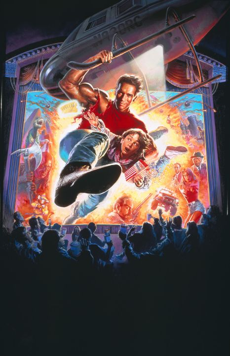 LAST ACTION HERO - Artwork - Bildquelle: 1993 Columbia Pictures Industries, Inc. All Rights Reserved.