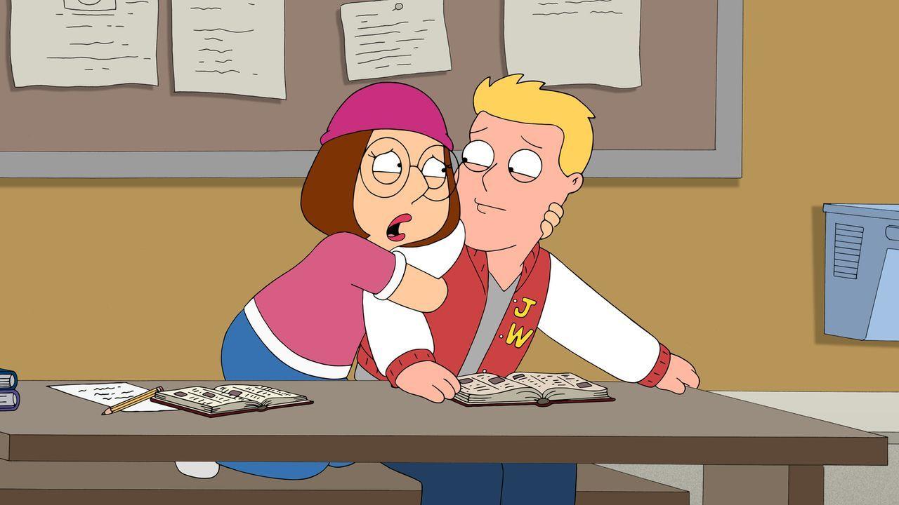 Ein Date der besonderen Art: Meg (l.) und Kent Lastname (r.) ... - Bildquelle: 2013 Twentieth Century Fox Film Corporation. All rights reserved.