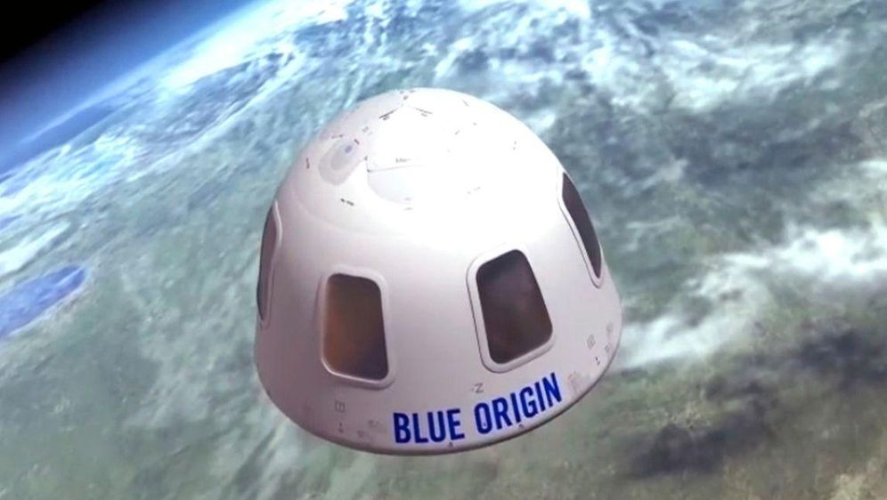 - Bildquelle: Uncredited/Blue Origin/AP/dpa