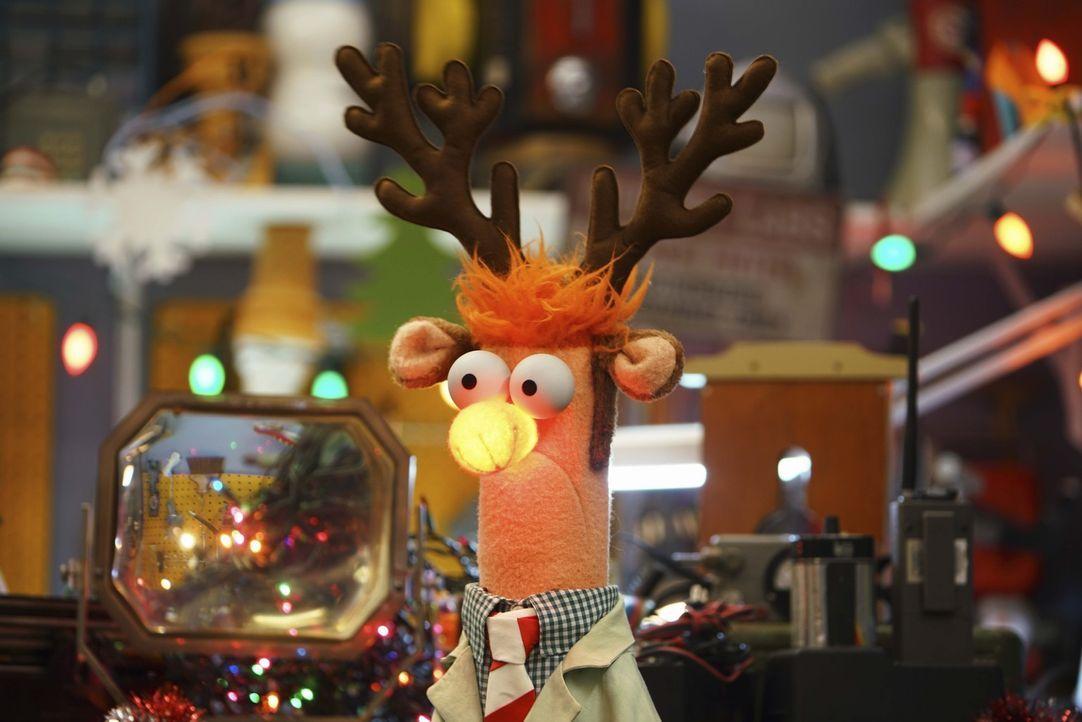 Freut sich auf die bevorstehende Weihnachtsfeier: Beaker - Bildquelle: Andrea McCallin ABC Studios
