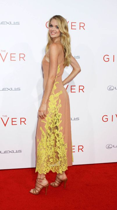The-Giver-Premiere-NY-Lindsay-Ellington-14-08-11-Michael-Carpenter-WENN-com - Bildquelle: Michael Carpenter/WENN.com