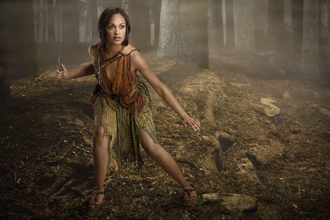 Das Angebot von Crixus, weit weg ein neues Leben zu beginnen, schlägt Naevia (Cynthia-Addai Robinson) aus, weil nun auch sie sich an den Römern f - Bildquelle: 2011 Starz Entertainment, LLC. All rights reserved.