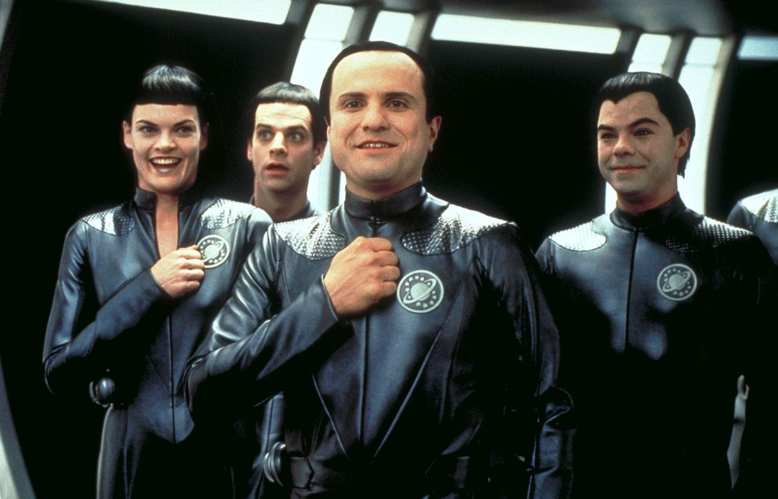 "Die Thermianer, eine außerirdische Rasse vom Planeten Klatu Nebel, glauben, dass es sich bei der Science-Fiction-Serie ""Galaxy Quest"" um""Dokumente... - Bildquelle: DreamWorks Distribution LLC"