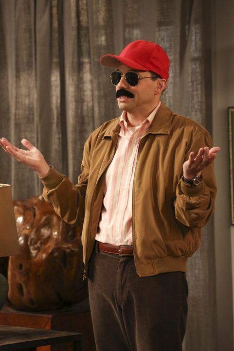 Hat Angst, dass Larry herausbekommt, dass er eine Affäre mit dessen Freundin Lyndsey hat: Alan (Jon Cryer) ... - Bildquelle: Warner Bros. Television