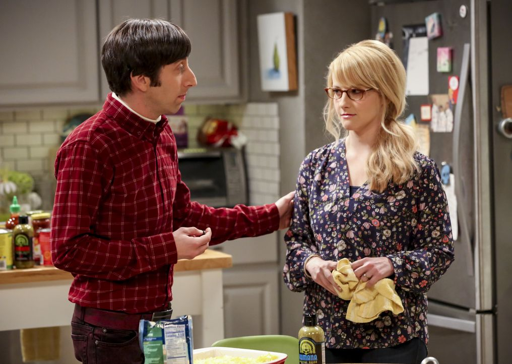 Howard Wolowitz (Simon Helberg, l.); Berndette Rostenkowski (Melissa Rauch, r.) - Bildquelle: Michael Yarish 2019 WBEI. All rights reserved. / Michael Yarish