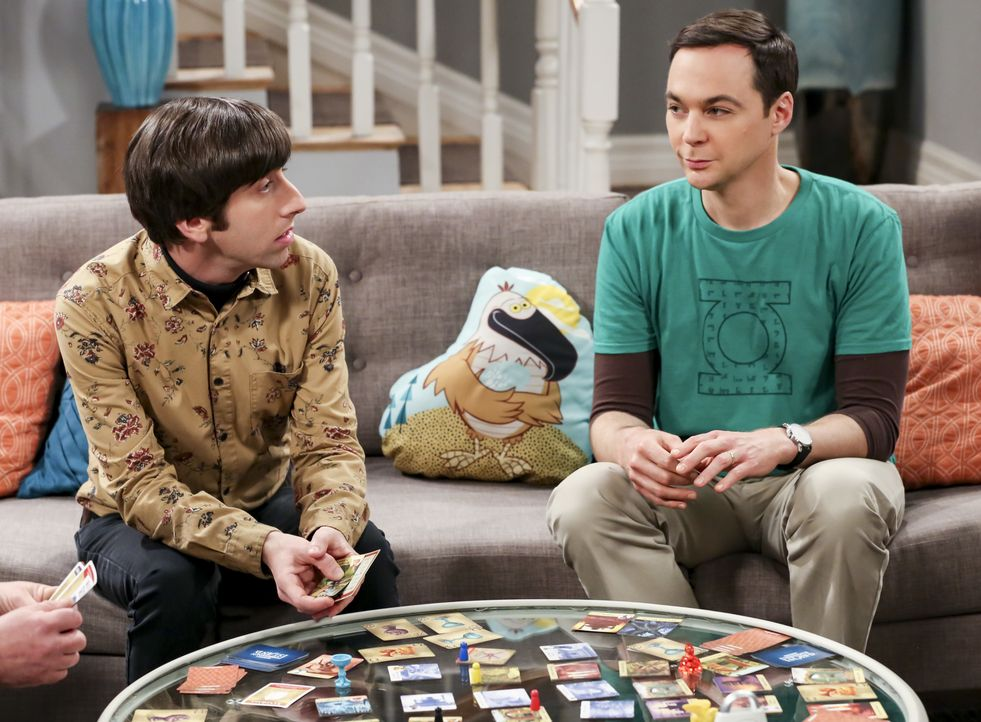 Howard Wolowitz (Simon Helberg, l.); Sheldon Cooper (Jim Parsons, r.) - Bildquelle: Michael Yarish 2019 WBEI. All rights reserved. / Michael Yarish