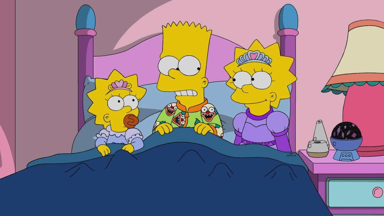 (v.l.n.r.) Maggie; Bart; Lisa - Bildquelle: 2020 by Twentieth Century Fox Film Corporation.