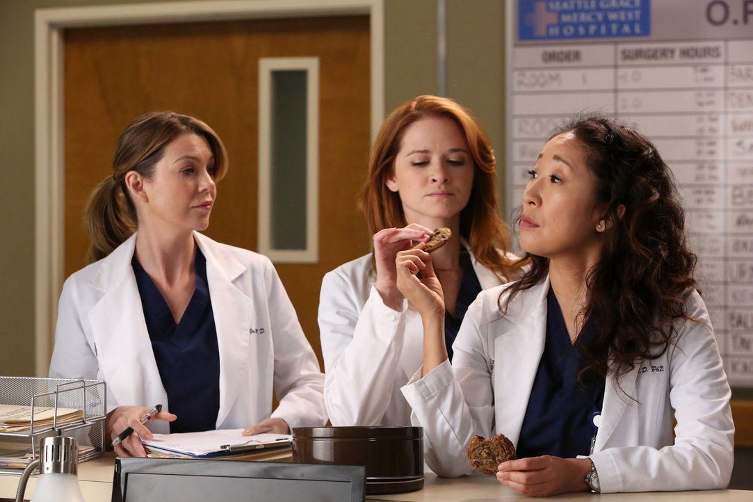 Jackson informiert Webber, dass seine Mutter Catherine in Seattle ist und sich fragt, warum Webber sich nicht mehr bei ihr melde. Daher hat sie ihm... - Bildquelle: ABC Studios