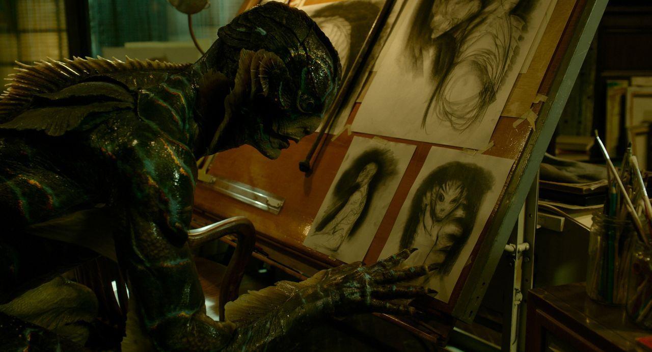 Amphibienmensch (Doug Jones) - Bildquelle: 2017 Twentieth Century Fox Film Corporation.  All rights reserved.