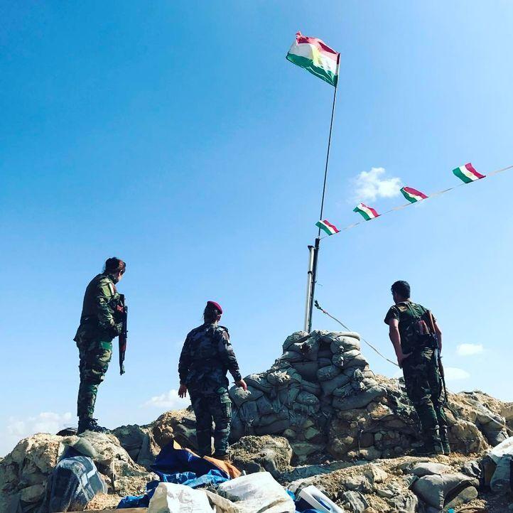 Im Irak, an der Kriegsfront