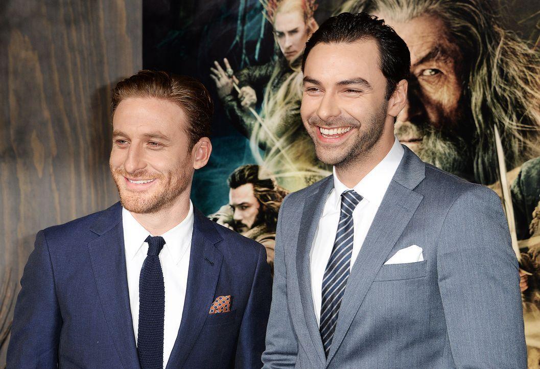 The-Hobbit-Premiere-LA-Dean-OGorman-Aidan-Turner-131202-AFP - Bildquelle: AFP