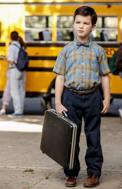 Sein Intellekt bringt Sheldon (Iain Armitage) schon mit neun Jahren auf die High School, ausgerechnet in die Klasse seines Bruder ... - Bildquelle: Warner Bros.