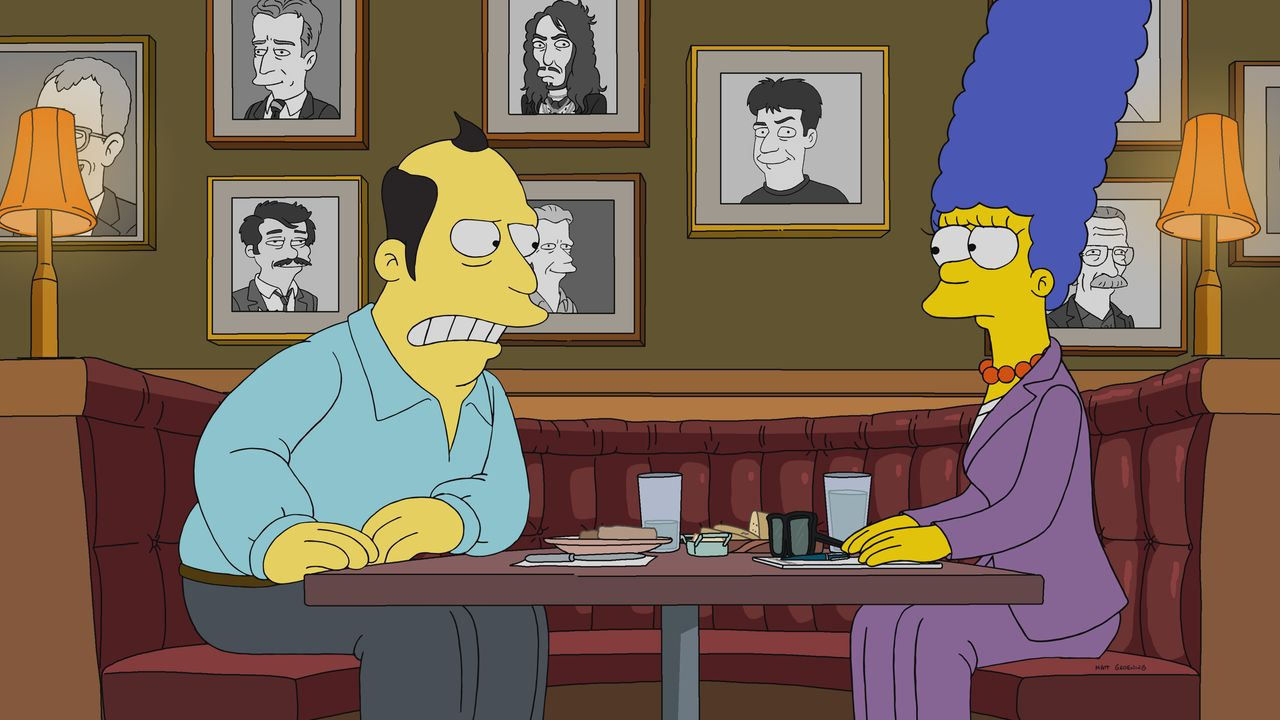 Jon Lovitz (l.); Marge (r.) - Bildquelle: 2018-2019 Fox and its related entities.  All rights reserved.