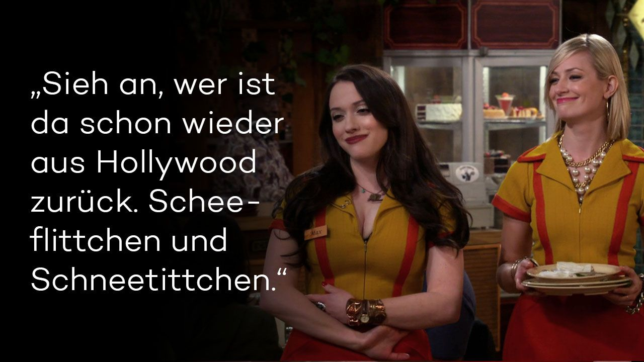 2 Broke Girls Staffel 5 Folge 17 Bild 1 - Bildquelle: Warner Brothers