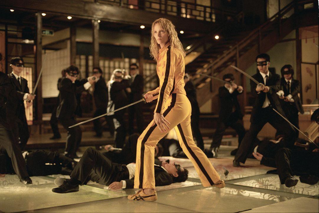"Die Braut/Beatrix Kiddo (Uma Thurman) ""Kill Bill : Vol.1+2"" (2003/2004) - Bildquelle: picture-alliance / Mary Evans Picture Library"