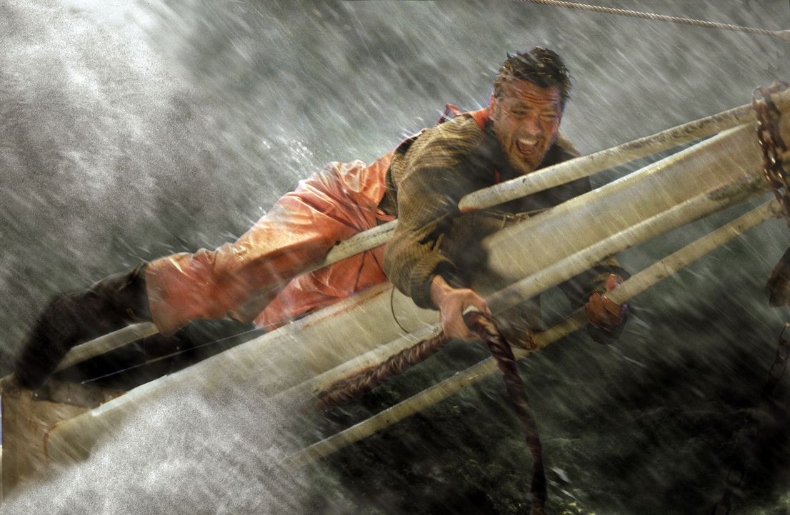 Als der Sturm immer stärker wird und nachdem seine Mannschaft alles gegeben hat, um den Sturm zu bezwingen, beschließt Billy (George Clooney), den... - Bildquelle: Warner Bros. Pictures