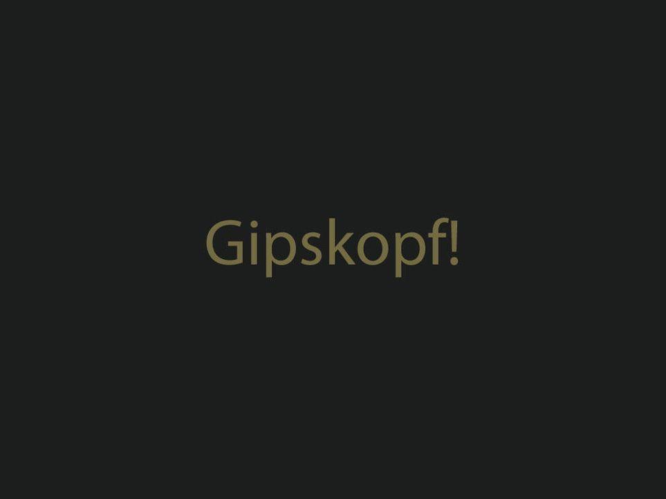 gipskopfjpg 1024 x 768 - Bildquelle: ProSieben