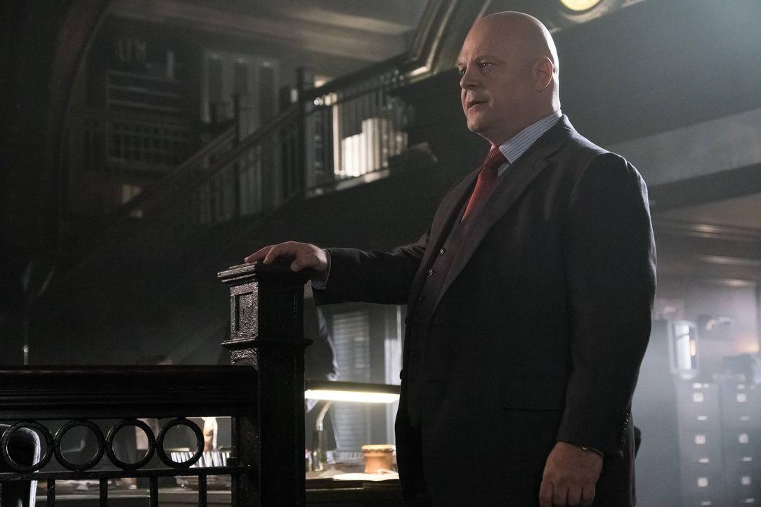 Sorgt für Recht und Ordnung in Gotham: Nathaniel Barnes (Michael Chiklis) ... - Bildquelle: Warner Brothers