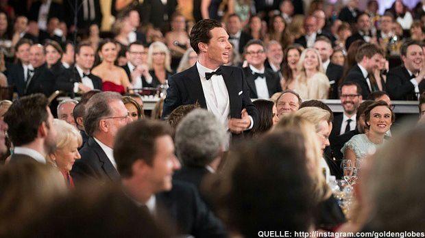 Golden-Globes-Benedict-Cumberbatch-Instagram - Bildquelle: http://instagram.com/goldenglobes