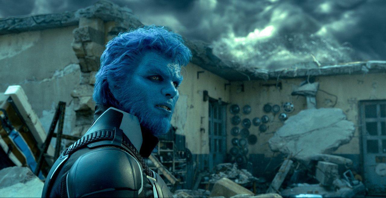 Sein technisches Verständnis kommt den X-Men eins ums andere zu Gute und trotzdem hat Hank (Nicholas Hoult) wegen seiner Erscheinung als Beast es ni... - Bildquelle: 2016 Twentieth Century Fox Film Corporation.  All rights reserved.  MARVEL TM &   2016 MARVEL & Subs.