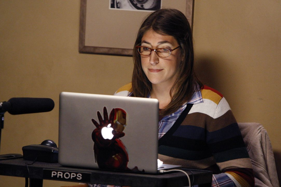 Will, dass Sheldon ihre Mutter kennenlernt: Amy (Mayim Bialik) ... - Bildquelle: Warner Brothers