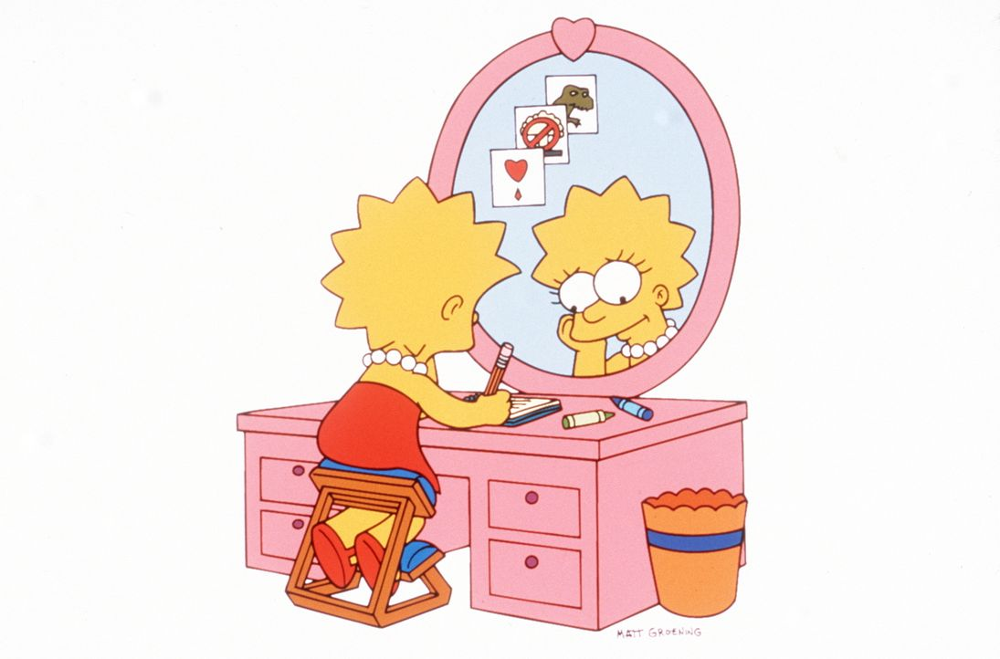 (9. Staffel) - In ihrem chaotischen Leben hat Lisa beschlossen, ein Tagebuch zu führen. - Bildquelle: und TM Twentieth Century Fox Film Corporation - Alle Rechte vorbehalten