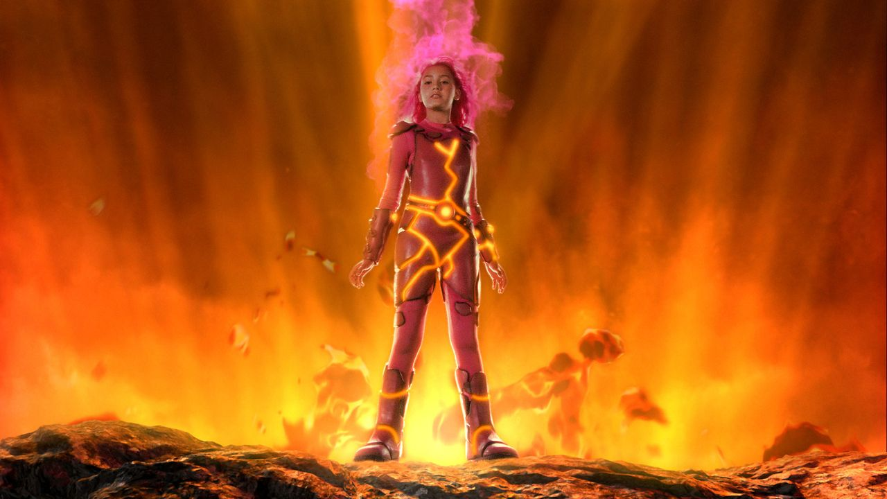 Ist dank der regen Vorstellungskraft des schüchternen Viertklässlers Max lebendig geworden: Lava Girl (Taylor Dooley), die glühende Lava aus ihre... - Bildquelle: 2005 Miramax Film Corp. All Rights Reserved.