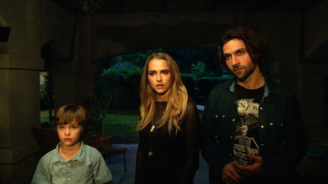 (v.l.n.r.) Martin (Gabriel Bateman); Rebecca (Teresa Palmer); Bret (Alexander DiPersia) - Bildquelle: Warner Bros. Entertainment Inc.