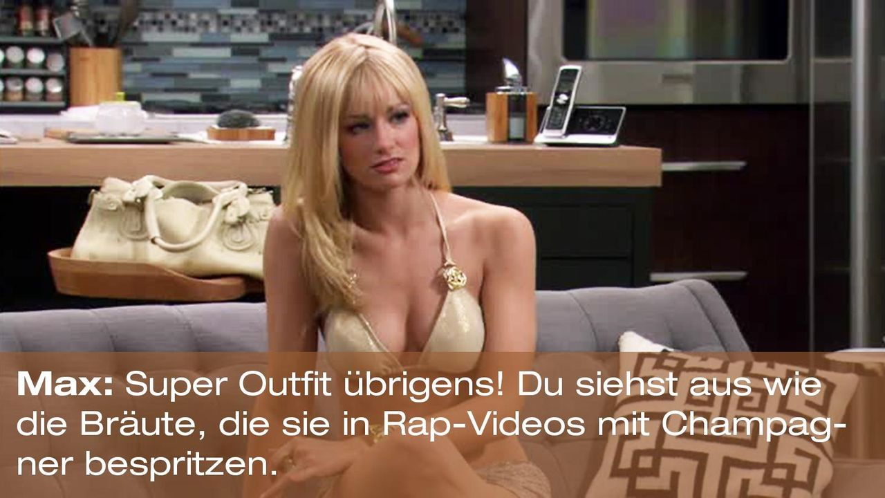 2-broke-girls-zitat-staffel1-episode-19-spring-break-max-outfit-warnerpng 1600 x 900 - Bildquelle: Warner Brothers Entertainment Inc.