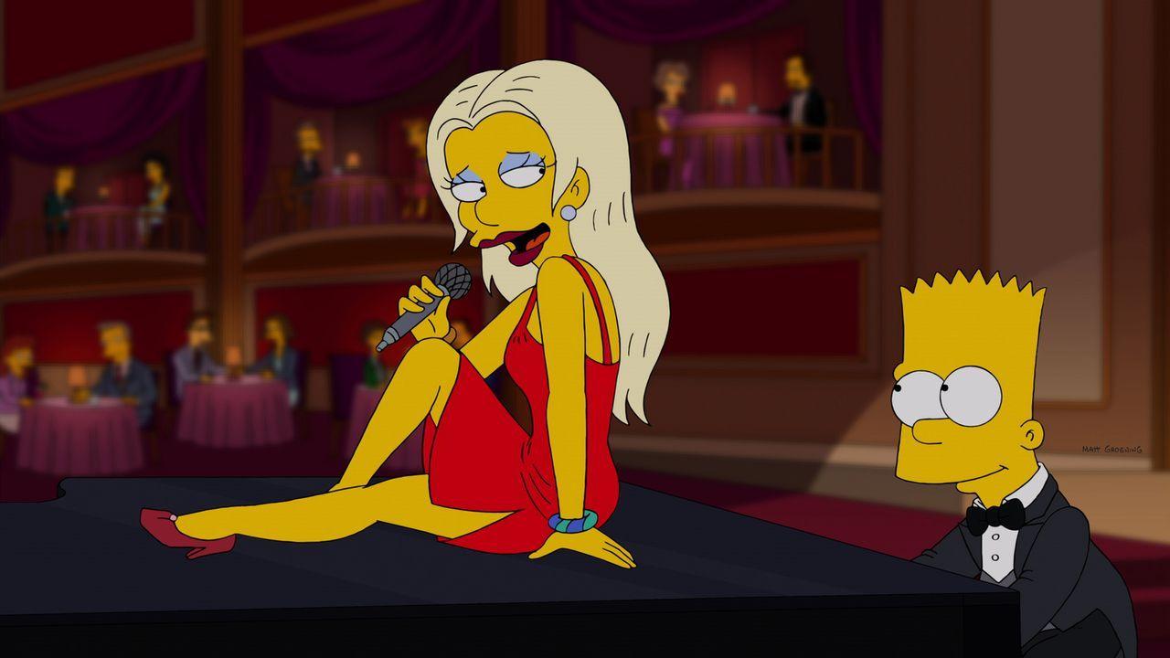 Marge möchte, dass Bart (r.) seine kreative Seite auslebt und schickt ihn deshalb zur Musikschule. Der hat da allerdings keinen Bock drauf - bis er... - Bildquelle: und TM Twentieth Century Fox Film Corporation - Alle Rechte vorbehalten